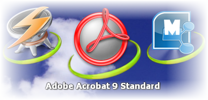 Adobe Acrobat on ObjectDock